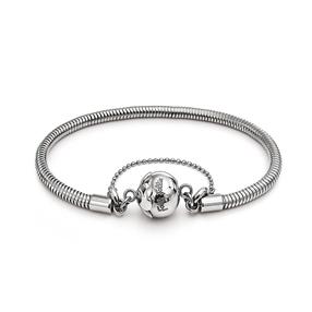 Playful Emotions Silver Plated Bracelet-