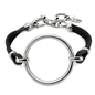 Metal Chic Silver Plated Leather Bracelet-