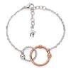 Style Bonding Silver Plated Bracelet