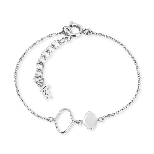 Chic Princess Silver Plated Βραχιόλι-