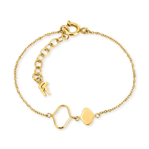 Chic Princess Yellow Gold Plated Bracelet-