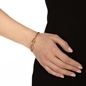 Fluidity 18k Yellow Gold Plated Brass Cuff Bracelet-