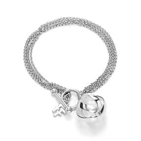 Stylesphere Silver Plated Brass Βραχιόλι-