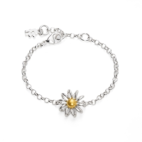 Dainty World Silver 925 Βραχιόλι-