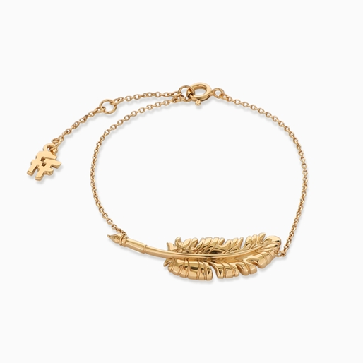 Historia Silver 925° Chain Bracelet With 18K Yellow Gold Plating-