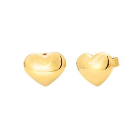 Style Stories Yellow Gold Plated Stud Earrings-