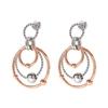 Style Bonding Silver Plated Earrings