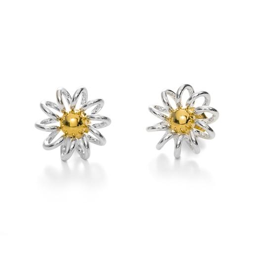 Dainty World Silver 925 Stud Earrings-