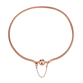 Playful Emotions Rose Gold Plated Short Necklace-