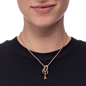 On Key Rose Gold Plated Short Necklace -