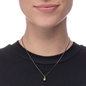 Style Drops Gun Plated Short Necklace-