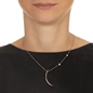 Wishing On Silver 925 18k Rose Gold Plated Short Necklace-yyy