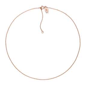 Pearl Fusion Silver 925 18k Rose Gold Plated Short Necklace-
