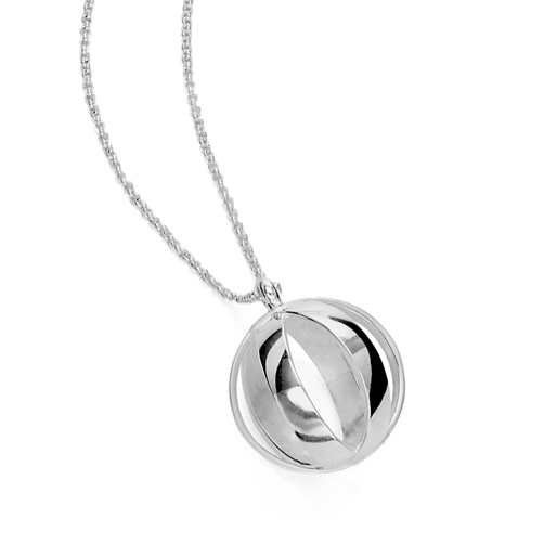 Stylesphere Silver Plated Brass Long Necklace-