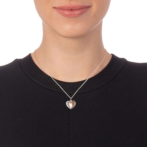 Love To Love Silver 925 Κοντό Κολιέ-