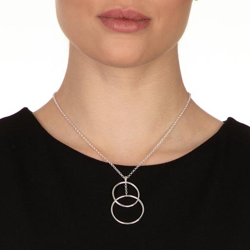 Link Up Silver 925 Short Necklace-