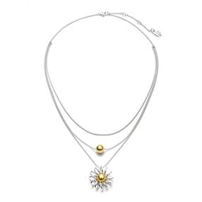Dainty World Silver 925 Medium Length Necklace-