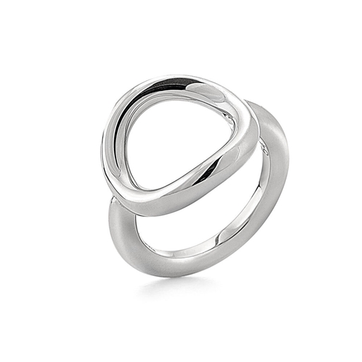 Metal Chic Silver Plated Δαχτυλίδι-