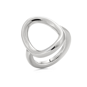 Metal Chic Silver Plated Ring-