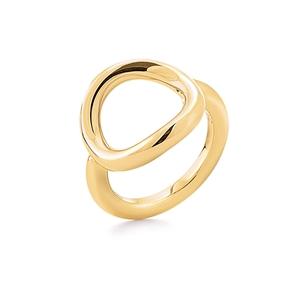 Metal Chic Yellow Gold Plated Δαχτυλίδι-