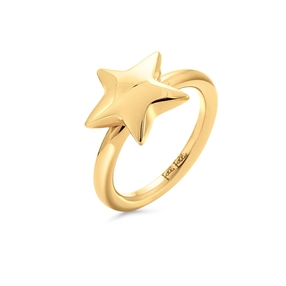 Style Stories Yellow Gold Plated Ring-