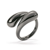 Style Drops Gun Plated Ring