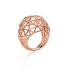Stylesphere 18k Rose Gold Plated Brass Δαχτυλίδι