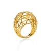 Stylesphere 18k Yellow Gold Plated Brass Ring