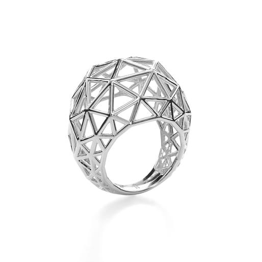 Stylesphere Silver Plated Brass Ring-
