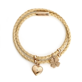 Heart4Heart Sweetheart Rose Gold Plated Bracelet-