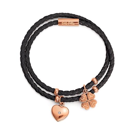 Heart4Heart Sweetheart Rose Gold Plated Bracelet -