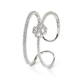 Miss Heart4Heart Silver 925 Cuff Bracelet-
