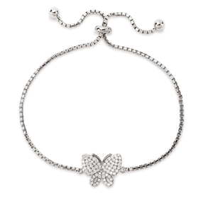 Wonderfly Silver 925 Adjustable Bracelet-