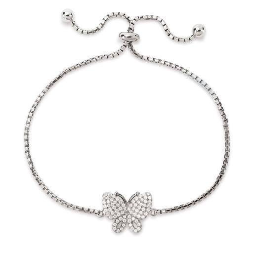 Wonderfly Silver 925 Adjustable Bracelet-
