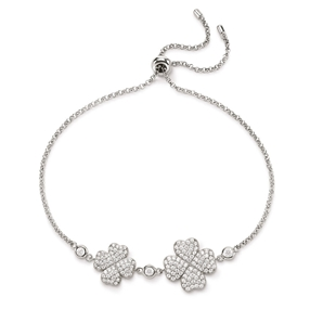 Heart4Heart Silver 925 Adjustable Bracelet-