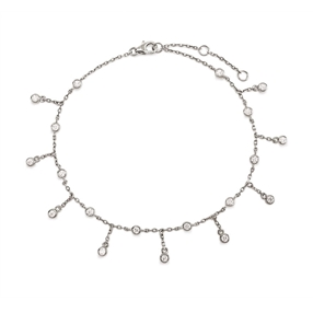 The Essentials Silver 925 Ankle Bracelet-