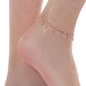 The Essentials Rose Gold Plated Ankle Bracelet-