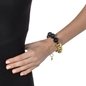 Style Stories Black And Yellow Gold Plated Βραχιόλι-
