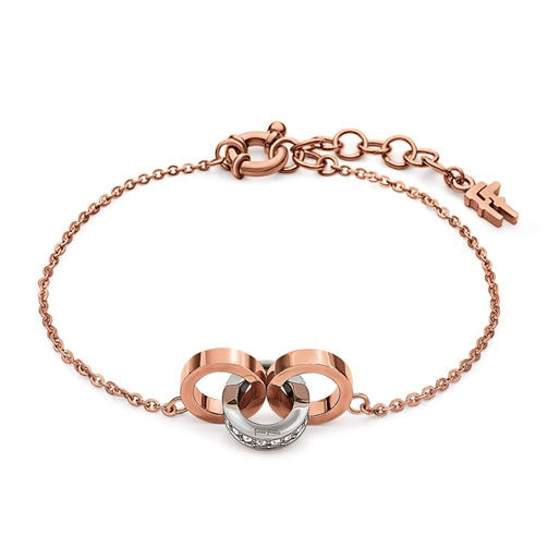 Touch Flash Rose Gold Plated Βραχιόλι-
