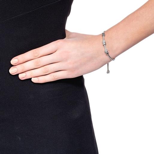 Love Memo Silver Plated Adjustable Bracelet-