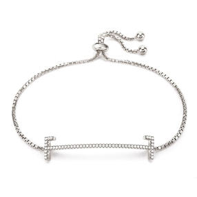 My FF Silver 925 Adjustable Bracelet-