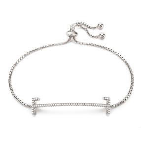My FF Silver 925 Adjustable Bracelet-