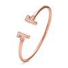 My FF Rose Gold Plated Cuff Bracelet