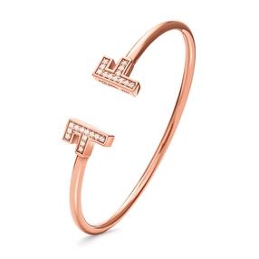 My FF Rose Gold Plated Cuff Bracelet-