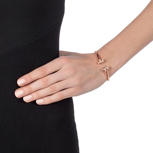 My FF Rose Gold Plated Cuff Bracelet -