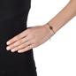 Heart4Heart Mati Black Flash Plated Ajustable Bracelet -