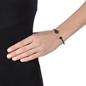 Heart4Heart Mati Black Plated Cuff Bracelet-