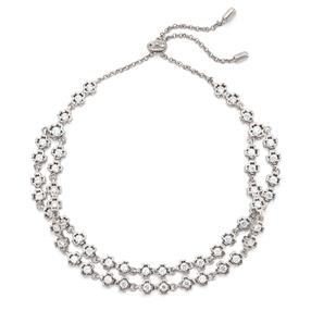 Miss Heart4Heart Silver 925 Rhodium Plated Ρυθμιζόμενο Βραχιόλι-
