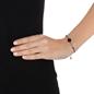 Heart4Heart Mirrors Silver 925 Black Plated Bracelet -