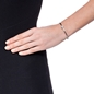 Heart4Heart Mirrors Silver 925 Rhodium Plated Two Sided Cuff Bracelet-